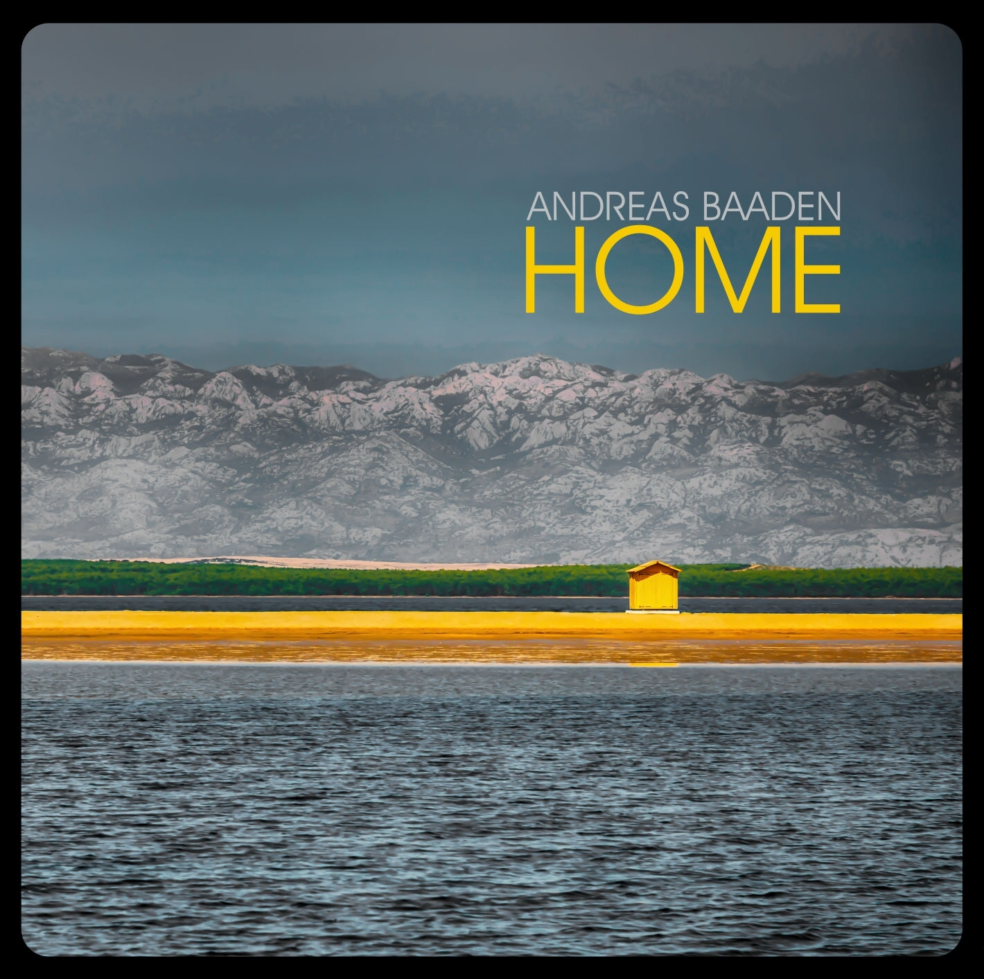 "CD cover of the album ""Home"" by Andreas Baaden"